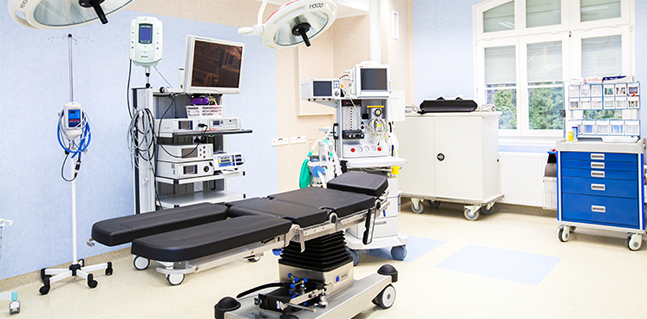Our patients waiting modernly equipped operating room